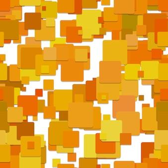 オレンジ色の四角い背景