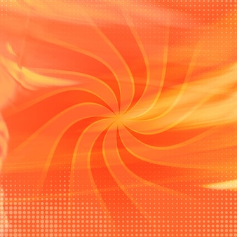 Orange watercolor swirl background