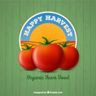 Organic food badge