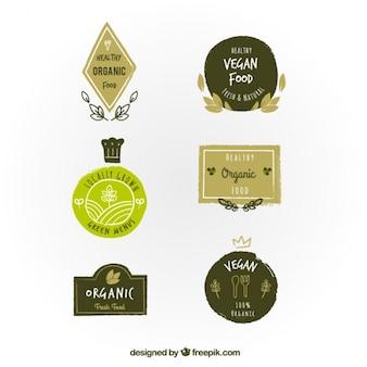 Organic food badges