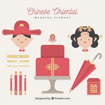 Oriental wedding elements