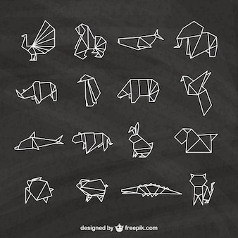 Origami animals pack