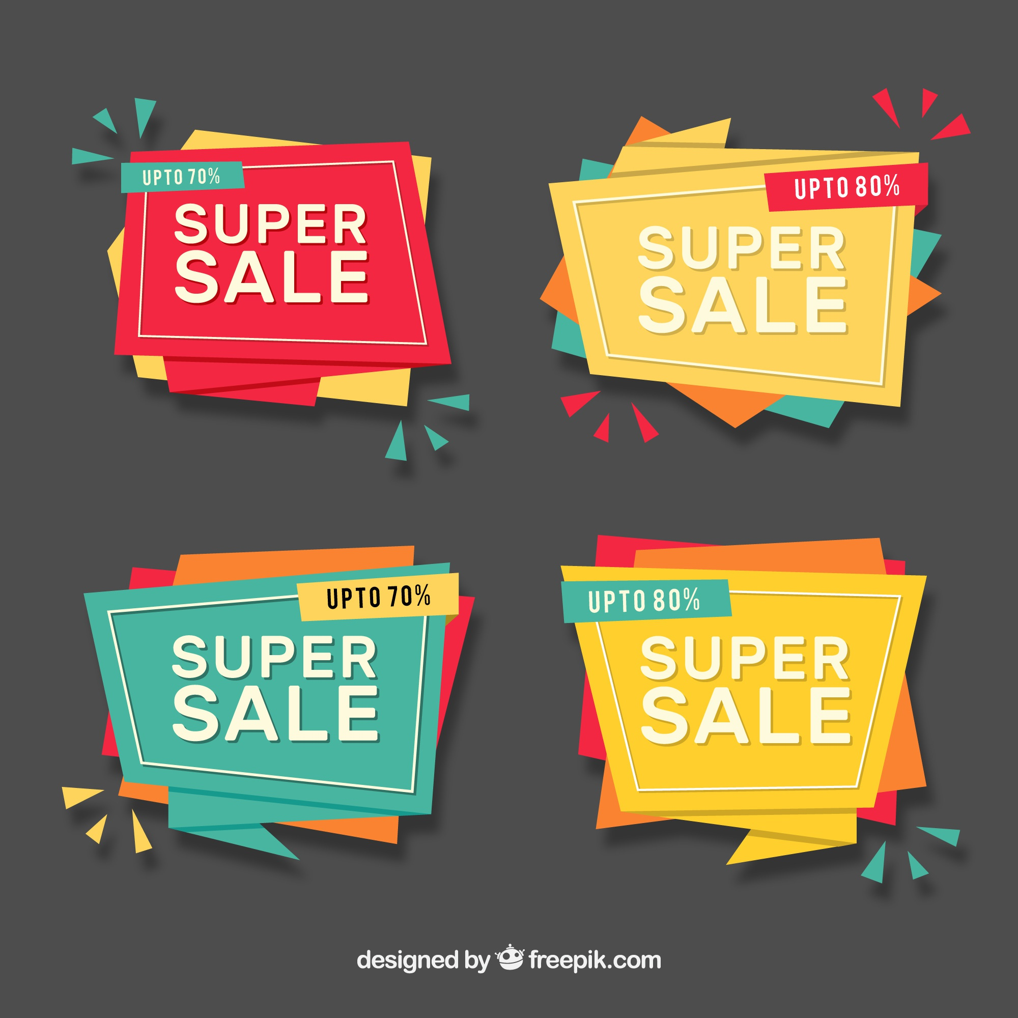 Origami sales banner