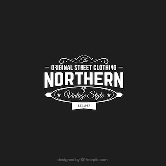 Original street clothing store logo