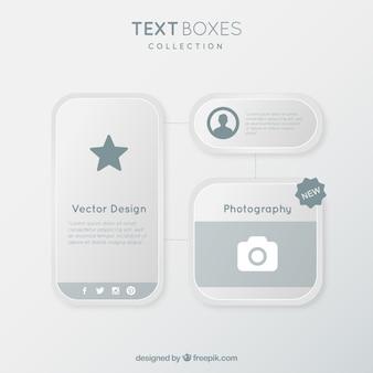 Original text boxes pack