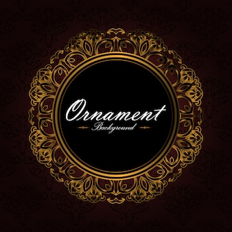 Ornamental background design