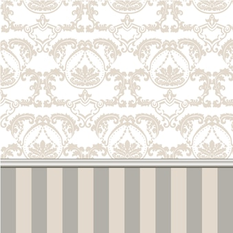 Ornamental background with stripes