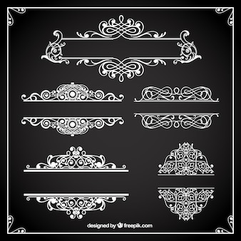 Ornamental borders collection