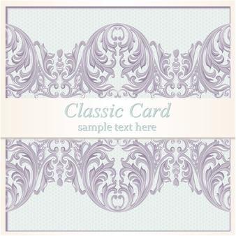 Ornamental card design