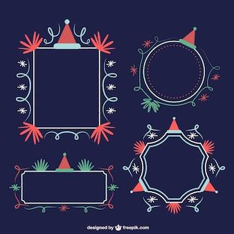 Ornamental christmas frames