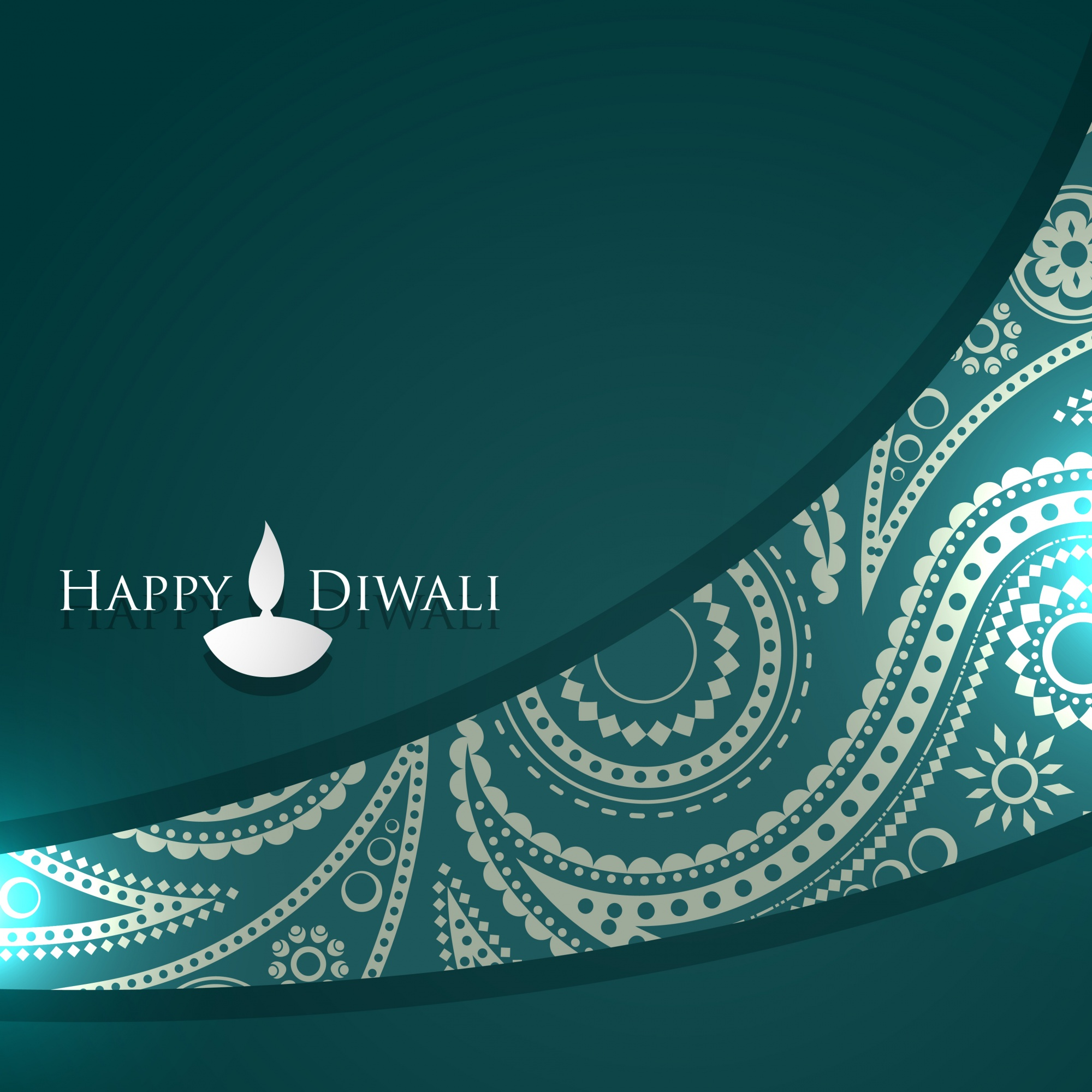 Ornamental design for diwali festival