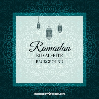 Ornamental elegant ramadan background