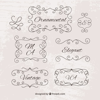 Ornamental Element pack