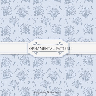 Ornamental floral pattern