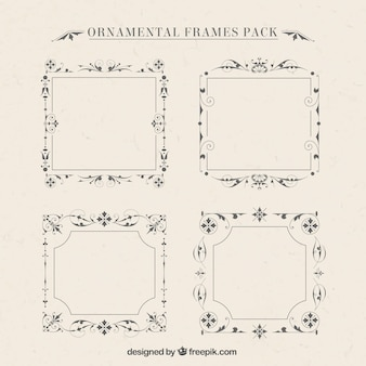 Ornamental frames pack