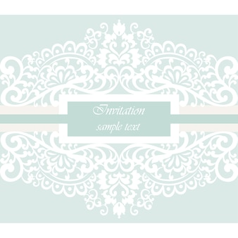 Ornamental invitation design