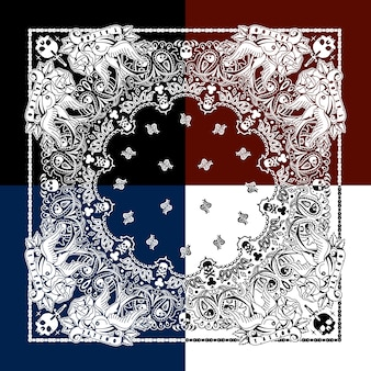 Ornamental pattern background