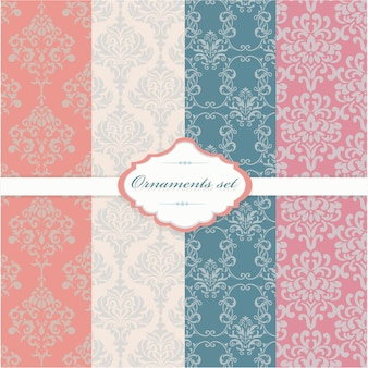 Ornamental patterns collection