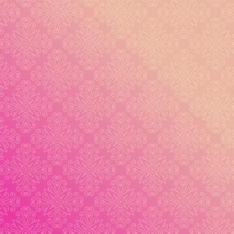 Ornamental pink background