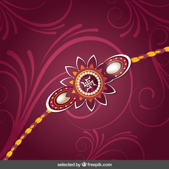 Ornamental Rakhi background