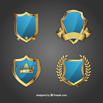 Ornamental shields