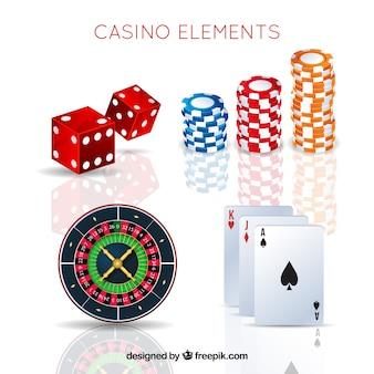 カジノの要素のパック