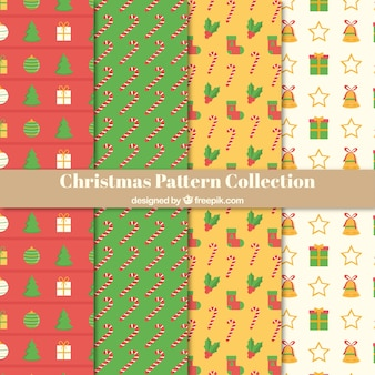 Pack of christmas patterns