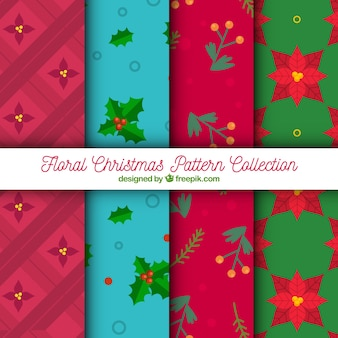 Pack of decorative christmas patterns