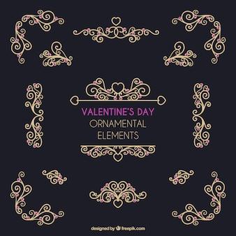Valentine vector pack
