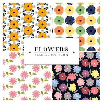 Pack of floral pattern