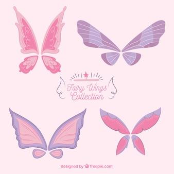 Pack of hand-drawn butterflies