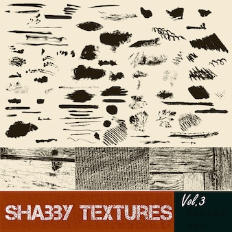 Pack of textures and scribbles