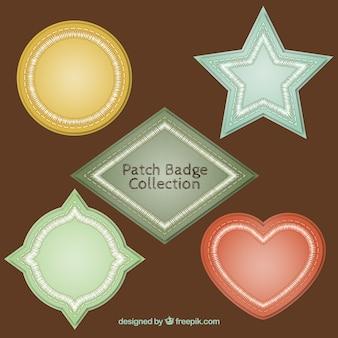 Pack of vintage decorative badges