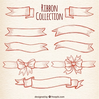 Pack of vintage ribbon with great designs