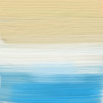 Painted abstract beach background