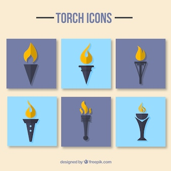Pak of torch icons