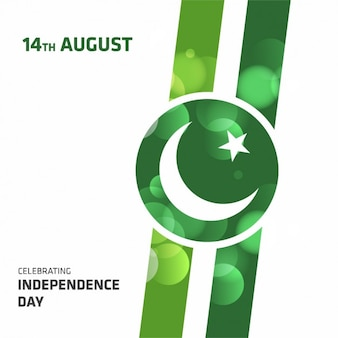 Pakistan independence day background design