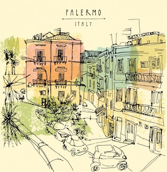 Palermo background design