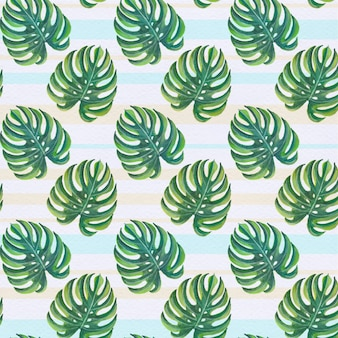 Palm tree pattern background