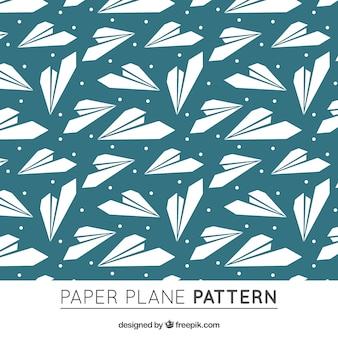 無料の紙飛行機パターン