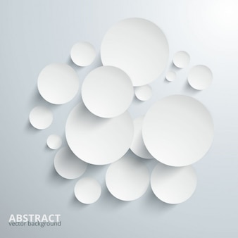 Paper circles background