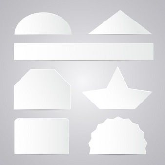 Paper shapes collection