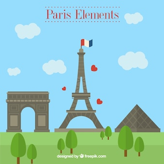 Paris monuments