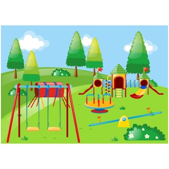 Park background design