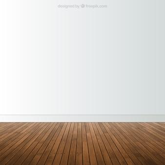 寄木張りの部屋
