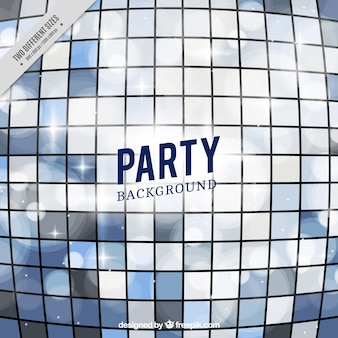 Party background with bright squares