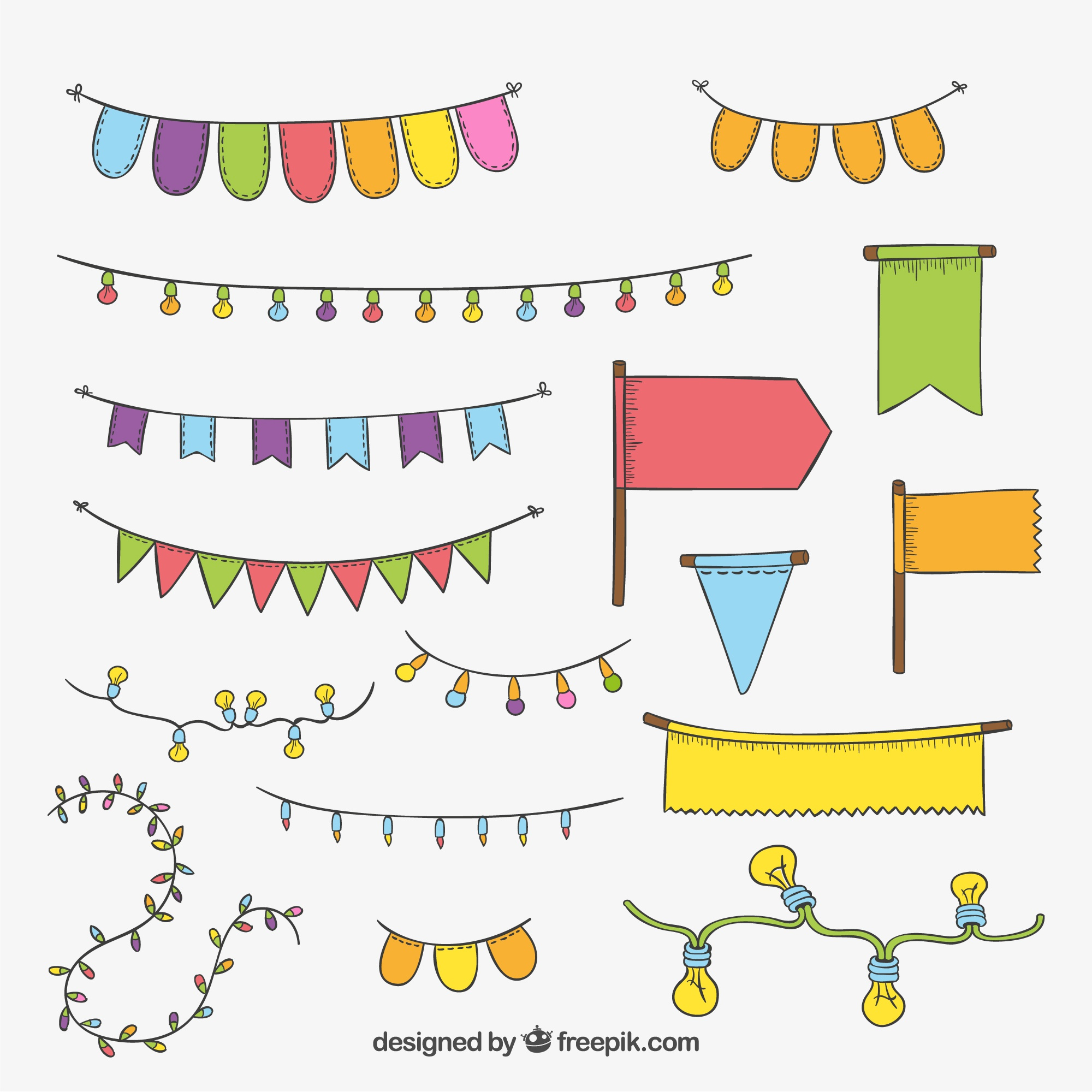 Party decorative elements