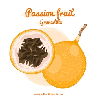 Passion fruit granadilla