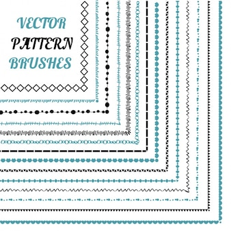 Pattern brushes collection