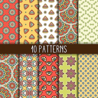 Pattern collection of 10